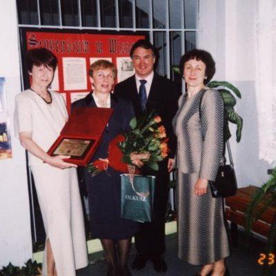 20030415_Zofia-Krzysztoforska-Weisswasser-tytul-przyjaciel-szkoly