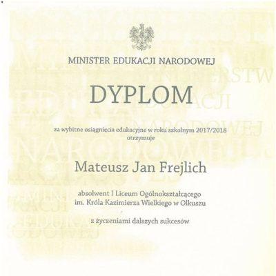 Mateusz Frejlich