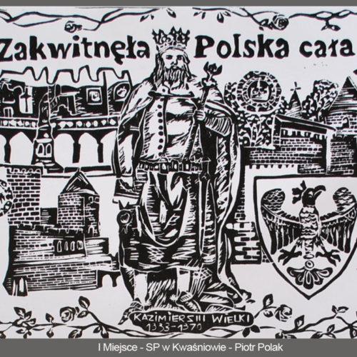 I miejsce SP w Kwaśniowie - Piotr Polak