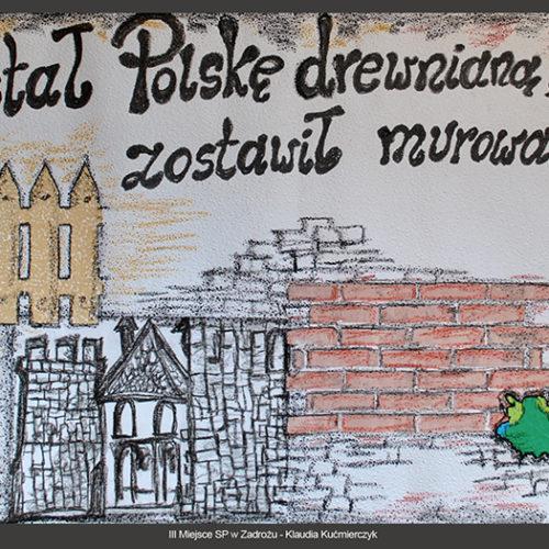 III miejsce SP w Zadrożu - Klaudia Kućmierczyk