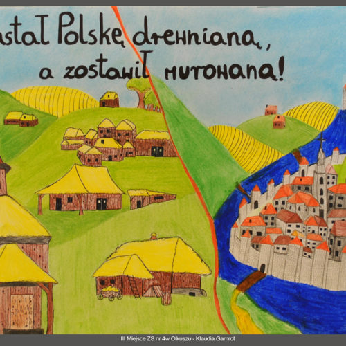 III miejsce ZS nr 4 w Olkuszu - Klaudia Gamrot